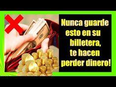 ¡NUNCA GUARDE estas COSAS en su BILLETERA! Te hacen PERDER DINERO!!! - YouTube