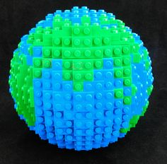 Our Lego globe model is a unique way to teach your child about geography or add a unique conversation piece to your desk! All side panels are bonded for durability but the 6 panels are not bonded toge