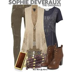 Inspired by Daniella Pineda as Sophie Deveraux on The Originals.