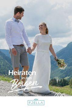Dem Himmel so nah bei einer Heirat in den Bergen! Ob Standesamt, Kirche, Kapelle, Alm, Berghütte, Chalet, See, urig oder schick, werdet bei unseren 42 Ideen für eure Hochzeit in den Bergen fündig!  ..................................    #hochzeit #berghochzeit #trauung #berge   Berghochzeit, Hochzeit Berge, Heiraten in den Bergen, Hochzeit in den Bergen, Alm Hochzeit, Almhochzeit, Hochzeit auf der Alm, Hochzeitslocation, Berge, Standesamtlich, Kirchlich, Feier, Hochzeitsfeier, Ort Kirchen, Bergen, White Dress, Wedding, Dresses, Fashion, Church Weddings, Registry Office Wedding, Marriage