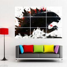 Godzilla-Poster-Giant-Wall-Decal-Art