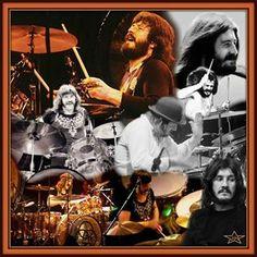 Led Zeppelin's John Henry Bonham collage