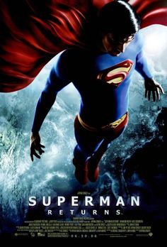 Superman Returns 2006 Directed by Bryan Singer. With Brandon Routh, Kevin Spacey, Kate Bosworth, James Marsden. Superman reappears after a long absence, but is challenged by an old foe who uses Kryptonian technology for world domination. Comic Superman, Superman Movies, Dc Movies, Superhero Movies, Movies To Watch, Good Movies, Movies Online, Movie Tv, Superman Poster
