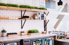 A Modern Juice Bar Designed by Bells & Whistles in interior design  Category