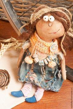Чердачная кукла Абрикоска - чердачная кукла,примитив,примитивная кукла