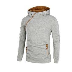 BAMan Men Diagonal Quilting Zipped Water Resistant Hooded Duck Down Jacket