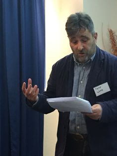 Prof. Pete Ward from Durham University and The Norwegian School of Theology, Oslo @ Ecclesiology & Ethnography Conference.