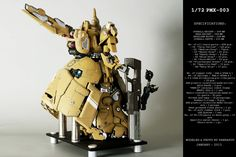 1/72 PMX-003 The O: Modeled by PandaPu. Photoreview Full Sized Images!, Info   GUNJAP