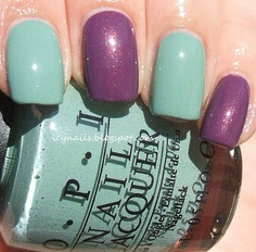 OPI Thanks a Windmillion and Dutch Ya Just Love OPI?  Cute combo together