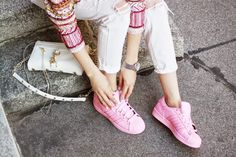 Adidas supercolor sneakers | Heart in the Clouds