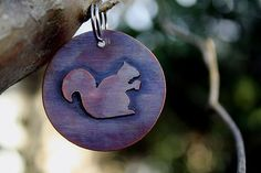 Pet I.D. Tag - Squirrel on Etsy, $19.95