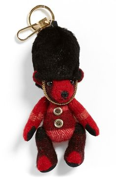 Burberry 'Thomas Bear' Bag Charm available at #Nordstrom