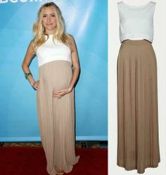 Bellyitch: Another celeb does crop top trend while preggers: Kristin Cavallari, Get the Dress!