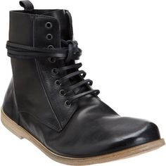 Marsèll Short Lace-Up Ankle Boot at Barneys.com