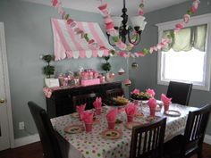 Party Search: Girl Birthday,Cupcakes - Page 2 Baking Birthday Parties, Baking Party, First Birthday Parties, Birthday Ideas, Cupcake Wars Party, Cupcake Decorating Party, Decoration Party, Cupcake Party Decorations, Cupcake Garland