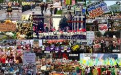 Fifty-two countries join 'March against Monsanto'. Hundreds of postings on the MAM Facebook page reveal the scale of global anger at Monsanto, with photos of huge demos in Korea, Taiwan, Mexico, Ecuador, Australia, Germany, Ghana, India and dozens of cities across the US. http://www.theecologist.org/News/news_round_up/2410843/fiftytwo_countries_join_march_against_monsanto.html