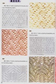 lace knit patterns