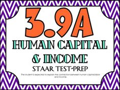 STAAR Test-Prep Task Cards!TEKS ALIGNED: 3.9A: The student is expected to explain the connection between human capital/labor and income.*This is a FINANCIAL LITERACY S.E.THIS INCLUDES: -20 multiple choice test-prep task cards-Answer key-Student recording sheet*These cards are a great way to assess student understanding and prepare for the STAAR test! **All questions are directly aligned to the 3rd Grade Math STAAR Test!