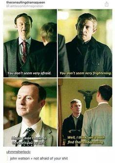 Sherlock bbc.  Mycroft and John