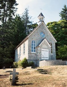 Chapel on Salt Spring Island. Hold the reception at the nearby Hastings House. #Wedding #Marry #Married #Chapel | www.tourismvictoria.com
