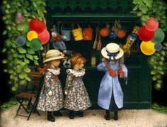 Marie-France Beglan Dolls' House Dolls