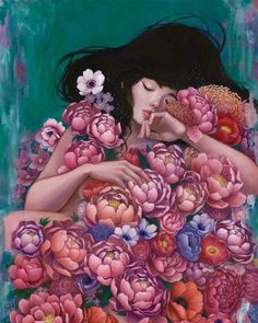 """Two solo shows kick off this weekend at Thinkspace Gallery in Culver City, Calif.: Audrey Kawasaki's """"Interlude"""" and Stella Im Hultberg's """"Hollow Resonance."""" Both shows kick off on Satu…"""