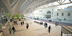 Resultado de imagen para plazas de mercado arquitectura