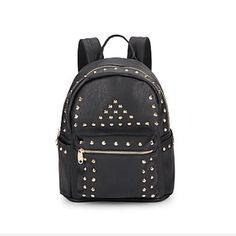 Black Studded Backpack This Super cute backpack is Able to carry all of your school/office needs, while remaining in style! Would also make a cute diaper bag! Dust Bag included! Retail Price $120, so this is an excellent deal! Urban Originals Bags Backpacks