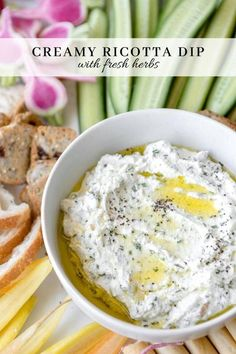 Vegetarian Appetizers, Great Appetizers, Appetizer Recipes, Dinner Recipes, Stuffed Squash Blossoms, Ricotta Dip, Cracker Dip, Oven Roasted Tomatoes, Homemade Lasagna