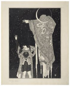 From a set of original drawings by John Austen for a published volume of Shakespeare's Hamlet, 1922. Courtesy of the Folger Shakespeare Library.