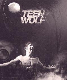 Teen Wolf Poster Season 2 by on DeviantArt Teen Wolf Derek Hale, Stiles Derek, Teen Wolf Dylan, Dylan O'brien, Teen Wolf Poster, Cody Christian, Howl At The Moon, Tyler Hoechlin, Werewolf