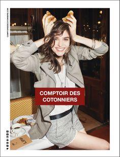 Comptoir des Cotonniers - Spring 2014 Campaign Photographer : Tung Walsh Model : Manon Leloup