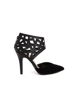 New Look Quantity Laser Cut Heeled Shoes
