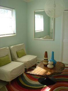 """Mid-century goodness in our """"starter"""" home."""