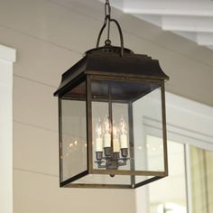A Better House with Front Porch Pendant Light : Captivating Image Of Front Porch Lighting Decoration Using Vintage Dark Brown Metal Glass Candle Lantern Front… Farmhouse Lighting, Hanging Light Fixtures, Hanging Lanterns, Porch Light Fixtures, Light Fixtures, Hanging Lights, Outdoor Hanging Lights, Hanging Ceiling Lights, Hanging Porch Lights