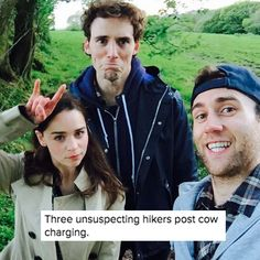 "They were, at one point, chased by a herd of cows together. | 24 Times The ""Me Before You"" Cast Was Just Too Adorable"