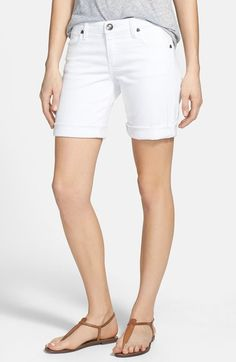 KUT from the Kloth 'Catherine' Denim Boyfriend Shorts available at #Nordstrom