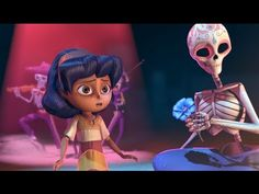 "▶ CGI Student Academy Award Gold Medal Winner Short Film HD: ""Dia De Los Muertos"" from Whoo Kazoo - YouTube"
