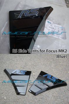Focus MK2 RS Side Vents (Blue)