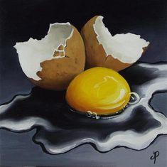 """""""Egg No. 5"""" - Original Fine Art for Sale - © Jane Palmer"""