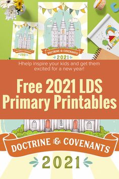 This 2021 Latter-day Saint Primary Kit for Come, Follow Me will have you prepared and eager for primary. So much of this kit can be used anytime. Download it for free! #FreeLDSprintables #FreeMinisteringPrintables #LatterDaySaint #LDSprintables #Ministering #PrimaryPrintables #FreeLDSQuotes #MinisteringPrintables Latter Days, Latter Day Saints, Lds Seminary, Doctrine And Covenants, Lds Primary, Book Of Mormon, Lds Church, Lds Quotes, Get Excited