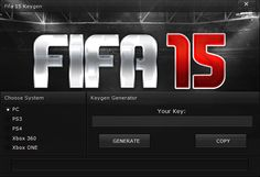 FIFA 15 Serial Key Generator  FIFA 15 Serial Key Generator (PC,PS 3,4 & Xbox 360/ONE) - HacksBook http://www.hacksbook.com/fifa-15-serial-key-generator-keygen/