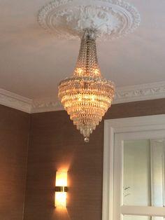 Lysekrone. Vegglampe fra Ginger & Jagger.