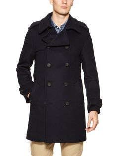 #GiftMe Gloverall Wool Trench Coat