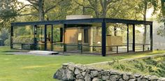 glass house johnson plan - Cerca con Google