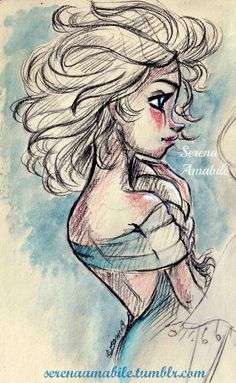 elsa. by SerenaAmabile.deviantart.com on @deviantART