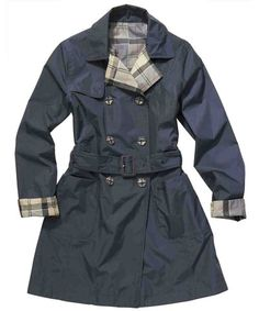 Barbour Reversible Cedar Trench | THE LUCKY KNOT