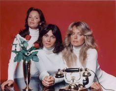 Jaclyn Smith, Kate Jackson & Farrah Fawcett  Charlie's Angels (1976/77)