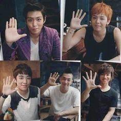 Big Bang - T.O.P, GD/G-Dragon, Seungri, Taeyang, Daesung   #kpop