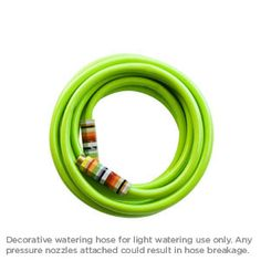 25' kink resistant 5/8 inch hose with custom handles from Alice Supply Co